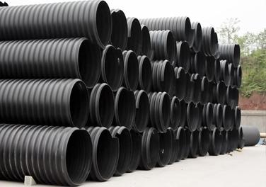 HDPE钢带增强螺旋波纹管规格