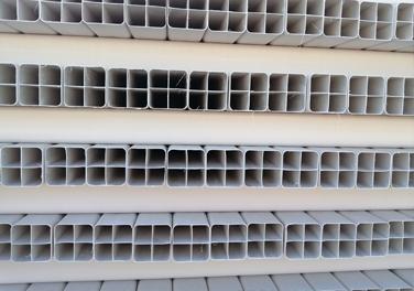 PVC四孔格栅管