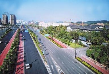 广西省南宁市道路改造工程